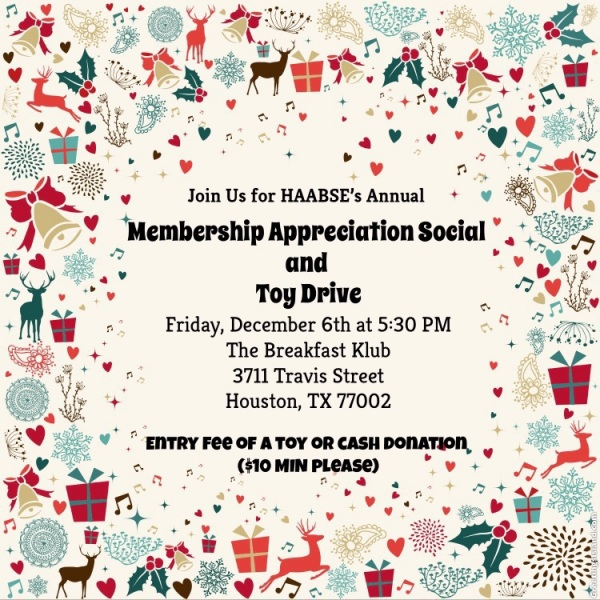Membership Appreciation Social and Toy Drive