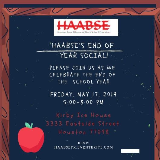 HAABSE End of Year Social