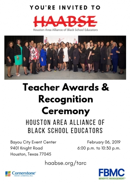 Outstanding Teacher Awards & Recognition Ceremony