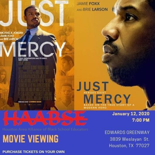 HAABSE Movie Viewing: Just Mercy